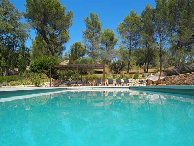 Louer maison piscine provence